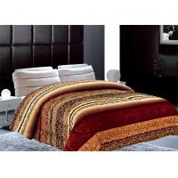 Buy cheap Geometric Type Winter Bed Covers , 5cm Thickness Solid Comforter Sets from wholesalers