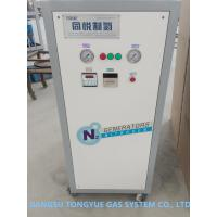 Buy cheap Army Vehicle Tyre Filling Mobile Nitrogen Generation Unit 0.8 Mpa Pressure from wholesalers