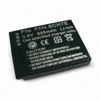 Buy cheap Camera Battery with 695mAh Capacity, Ideal for Panasonic DMW-BCH7E from wholesalers
