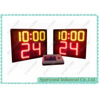 Buy cheap Basketball Court Stand Electronic Basketball Shot Clock With Play Time from wholesalers