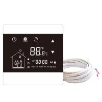 Buy cheap Digital weekly Programming Touchscreen Smart Thermostat With LCD display screen from wholesalers