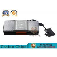 Buy cheap Bulk Casino Promotion Automatic Walmart Auto 2 Deck Card Shuffler  21.8 * 11 * 9.2CM from wholesalers