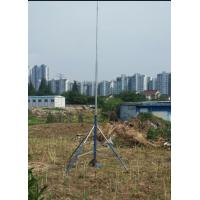 Buy cheap 3/4 legs tripod trolley based heavy duty 2mm wall 6063 aluminum tube 6-18m telescopic mast from wholesalers