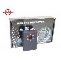 Buy cheap Wireless Pinhole Camera Lens Detector Anti Spy Device Current Consumption 8mA product