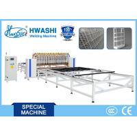 Buy cheap Automatic Wire Fence / Wire Mesh Shelving Spot Welding Machine for 3mx3m Mesh from wholesalers