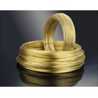 Buy cheap Coil Brass wire and spool brass wire from wholesalers