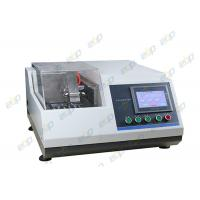 China Metallurgical Precision Specimen Cutting Machine With Transparent Protective Cover on sale