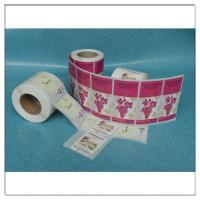 Buy cheap Custom Printed Adhesive Roll Label Sticker Logo Printed Roll Label,Custom Printed Roll Self Adhesive Logo Label from wholesalers