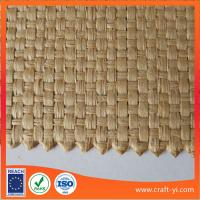 Buy cheap natural raffia straw cloth weave cloth made of raffia fiber for hat from wholesalers