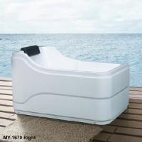 Buy cheap Acrylic Plain Bathtub in Simple European Style (MY-1670) product