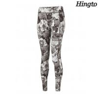 Buy cheap Custom Polyester Spandex Ladies Girls Yoga Pants With Four Way Stretch from wholesalers