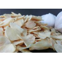 Buy cheap Wholesale Reduce Blood Pressure Dehydrated pure yellow Garlic Flakes Dehydrated Vegetable 20kg per bag from wholesalers