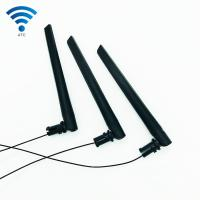 Buy cheap SMA Dual Band Antenna Omni Directional External 3DBI 2.4GHz 5GHz GSM WiFi Plastic product