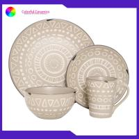 Buy cheap Nordic Dinner Ceramic Pottery Dinnerware Sets Mugs Sala Bowl Eco - Friendly from wholesalers