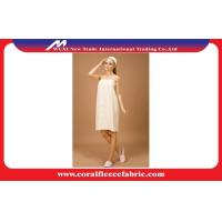 Buy cheap Sexy Waffle Tube Top Luxury Girls Bathrobe with Soft Cotton , Summer Night Dress from wholesalers