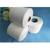 Buy cheap Low Enlongation Raw White / Virgin 40s / 2 100% Spun Polyester Thread from wholesalers