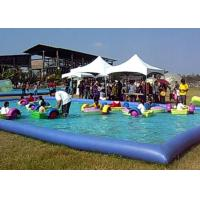 Amusement Park Small Swimming Pools For Kids , Inflatable Swimming Pool For Family