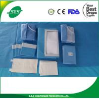 Buy cheap Distributer price EO sterile surgical laparoscopy drape pack with CE/ISO13485 for hospital/clinic from wholesalers