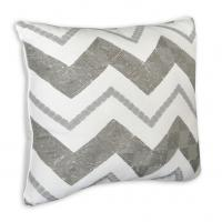 """Buy cheap Cody Zig Zag Square Reversible Throw Pillow 16"""" x16"""" / Decorative Throw Pillows for Sofa from wholesalers"""