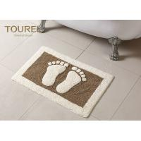 Buy cheap Bulge Big Feet  Icon Many Hotel Bath Mats Homor Design With Polyester Coral from wholesalers