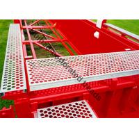Buy cheap Aluminum Safety Grating Walkways , Crocodile Mouth Anti Slip Metal Plate from wholesalers