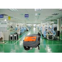 Buy cheap Two 13 Inch Brush Dynamo Battery Operated Floor Scrubber , Electric Walk Behind Floor Cleaners from wholesalers