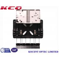 Buy cheap Aerial 1*8 PLC Fiber Optic Splitter Box Outdoor Waterproof KCO-GJS08 For FTTH GPON ABS PP from wholesalers