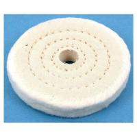 Buy cheap yellow color cloth polishing wheel from wholesalers