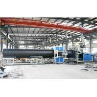 Buy cheap PP / Pe Pipe Extrusion Line , Sprial Pipe Production Line For Sewage Treatment from wholesalers