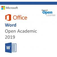 Buy cheap MS-O-W-OA-2019 Microsoft Office 2019 Product Key , Microsoft Word 2019 Open Academic from wholesalers