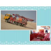 Buy cheap Truck mounted drilling rig in desert oil prospecting from wholesalers