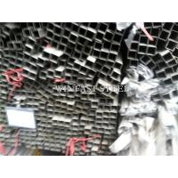 Buy cheap Rentangular 2 Inch Stainless Steel Pipe Welded Tubes Mirror Finished from wholesalers