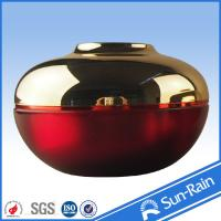 Buy cheap 15g 30g 50g Top grade Luxury acrylic Plastic cream jars round Shape product