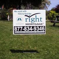 Buy cheap Custom Corrugated Plastic Yard Sign from wholesalers