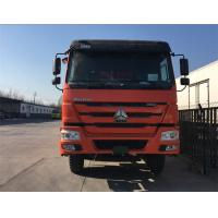 Buy cheap Stable Structure 8x4 Dump Truck With HW19710 Transmission And 300L Fuel Tank from wholesalers