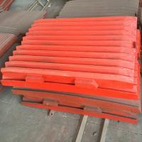 Buy cheap high chrome manganese jaw crusher plate from wholesalers