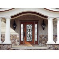 China personal style  Spray Coating Wrought Iron Glass With Hot Dipfabricated on sale