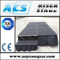 Buy cheap Wholsale Adjustable legs event stage/ mobile stage/mobile stage for sale from wholesalers