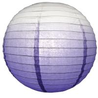 Quality Pastel Purple Ombre Paper Lantern for sale