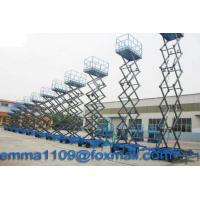 Buy cheap 4m to 18m SJY Scissor Working Platform Load 300kg to 1000kg Mobile Type Power Control from wholesalers