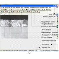 Buy cheap Image Editing  Metallurgical Analysis Investigation Software With Image Processing from wholesalers