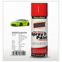 Buy cheap Aeropak  aerosol can 400ml 10oz Fluorescent spray paint with all colors acrylic from wholesalers