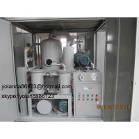 Buy cheap Transformer Oil Dehydration/ Degassing/ Dewatering System/ Oil Filtration Equipment/ Transformer Oil Water Vacuum Press Separator product