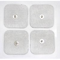 Buy cheap White Cloth Reusable TENS Pads , Self-adhesive Electrode Pads with USA Tyco from wholesalers