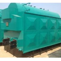 Buy cheap Reliable Manual Coal Fired Steam Boiler 2 T Furnace Smoke Box Movable Grate Fan from wholesalers