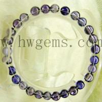 Buy cheap Round Beaded Cubic Zirconia Stone Bracelet from wholesalers
