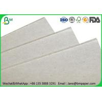 Buy cheap 0.5mm - 4mm Grey Paper Board , Laminated Cardboard Sheets For Book Binding product