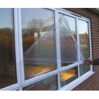 Buy cheap Easy Mask LLDPE 80g/25mm Sun Protection Glass Film Against Over Sprays from wholesalers
