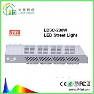 Buy cheap IP66 Bright Street Lighting Fixtures 200 Watt Commercial Street Lights product