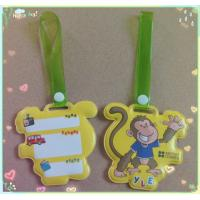 Buy cheap Customized PVC luggage tag, advertising tag product